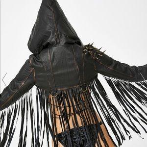 Punk Definition Fringe Jacket